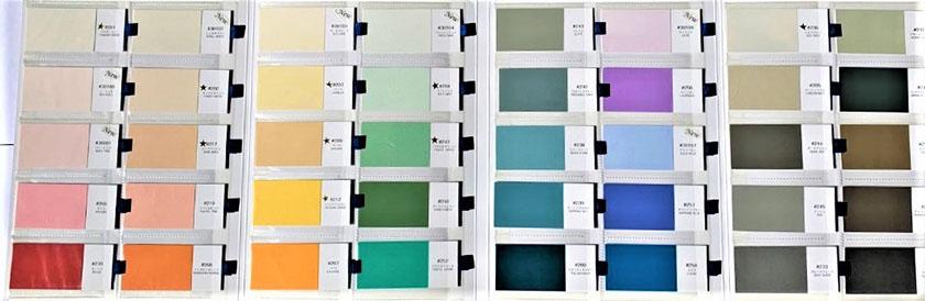 40色からお好みのカラーを見つけてください